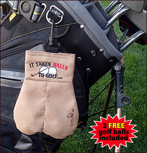 Mysack® Golf Ball Storage Sack